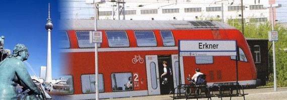 Bahnanschluss nach Berlin