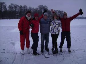v.l. Bea, Steffi, Jens, Sarah, Heiko