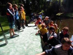 Abschlussfahrt - Drachenboot fahren