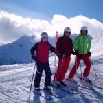 Skilager 2013 - Skitrupp Spaß haben