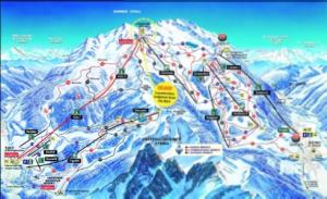 Pistenplan Skigebiet Matrei