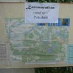 Potsdam-Marathon 2013 - Strecke