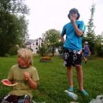 Sommerkanucamp 2013 - 1.Tag Rast