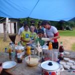 Sommerkanucamp 2013 - 2. Tag Mittag