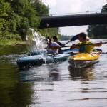 Sommerkanucamp 2013 - 2. Tag Wasserschlacht