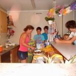 Sommerkanucamp 2013 - Kuchenverkostung