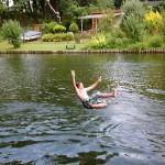 Sommerkanucamp 2013 - Tarzanschaukel