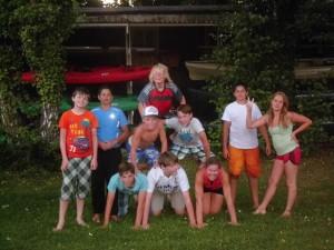 Sommerkanucamp 2013 - Gruppenfoto