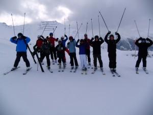 Skilager 2014 - Gruppenfoto Ski