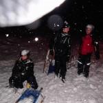 Skilager 2014 - Nachtrodeln