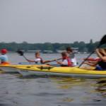 Sommerferien 2014 - Paddeln