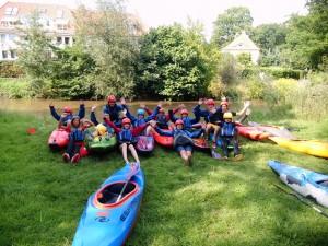 Sommerferien 2014 - Wildwasser KiJu-Gruppe