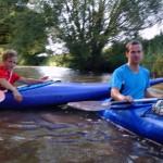 Sommerferien 2014 - Paddeln Innerste
