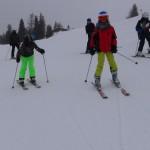 Skilager 2015 - auf der Piste