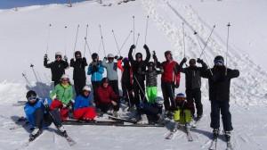Skilager 2015 - Gruppenbild
