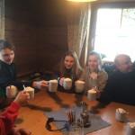 Skilager 2015 - Schoki trinken