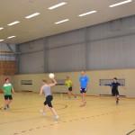 Hallentraining 2015 - Abwurfball