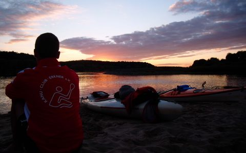 KANU-Jugend: Musicalbesuch zum Abschluss der 9-tägigen Sommerfahrt auf der Elbe