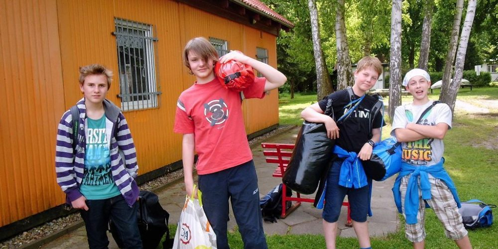 Kanu-Jugend: 6. Sommerkanucamp in Erkner