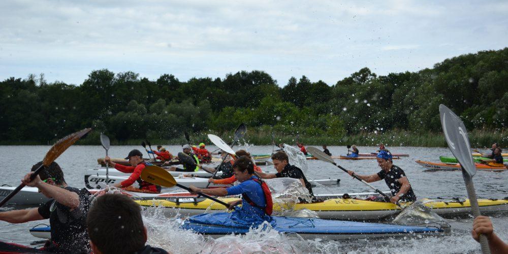 Potsdam Marathon: Erkneraner Kanuten trotzen Wetterkapriolen und paddeln aufs Podest