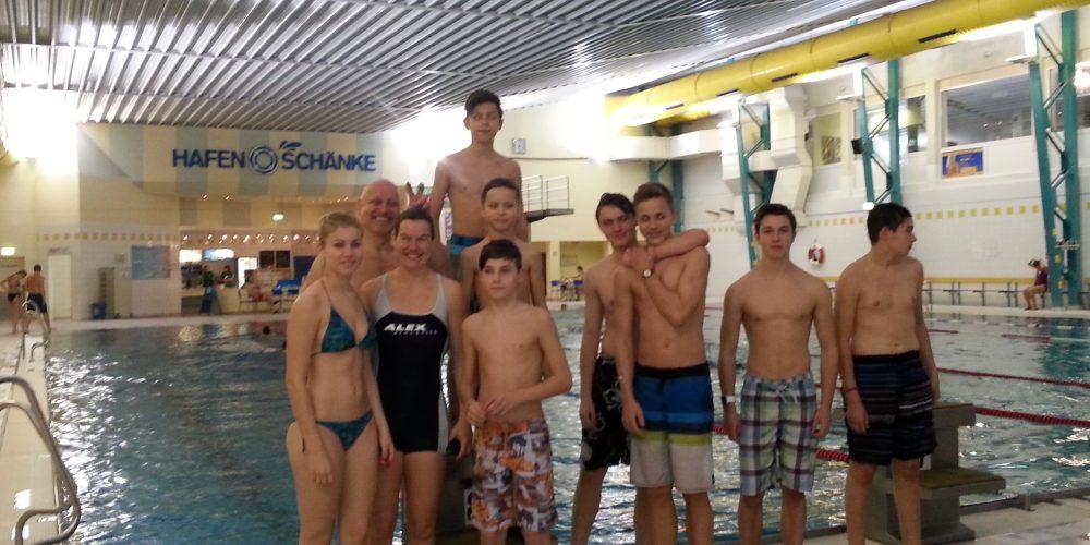 KANU-Jugend: Schwimmtraining – Der nächste Sommer kommt…